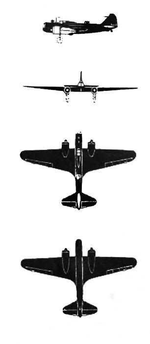 Бомбардировщик дб 3