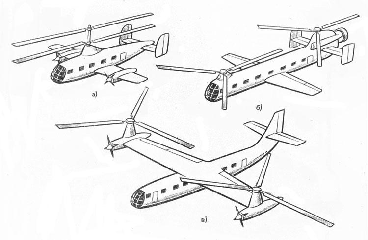 Двухвинтовые вертолеты