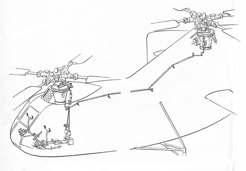 Схема поперечного и путевого